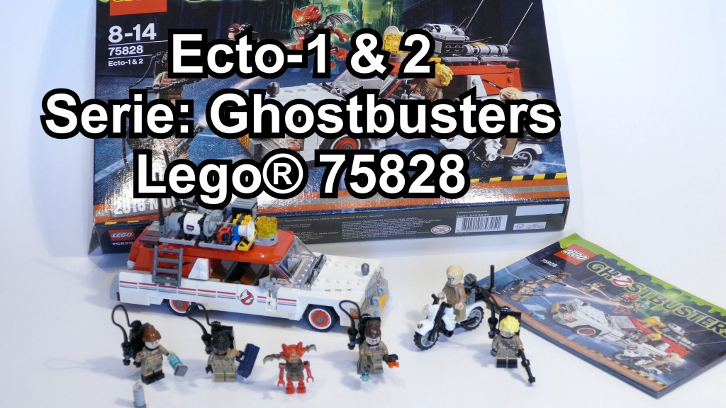 lego ecto 1 2 ghostbusters set 75828. Black Bedroom Furniture Sets. Home Design Ideas