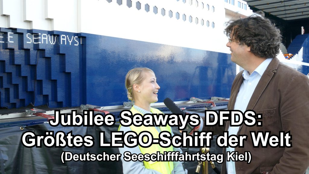 gr tes lego schiff der welt jubilee seaways dfds. Black Bedroom Furniture Sets. Home Design Ideas