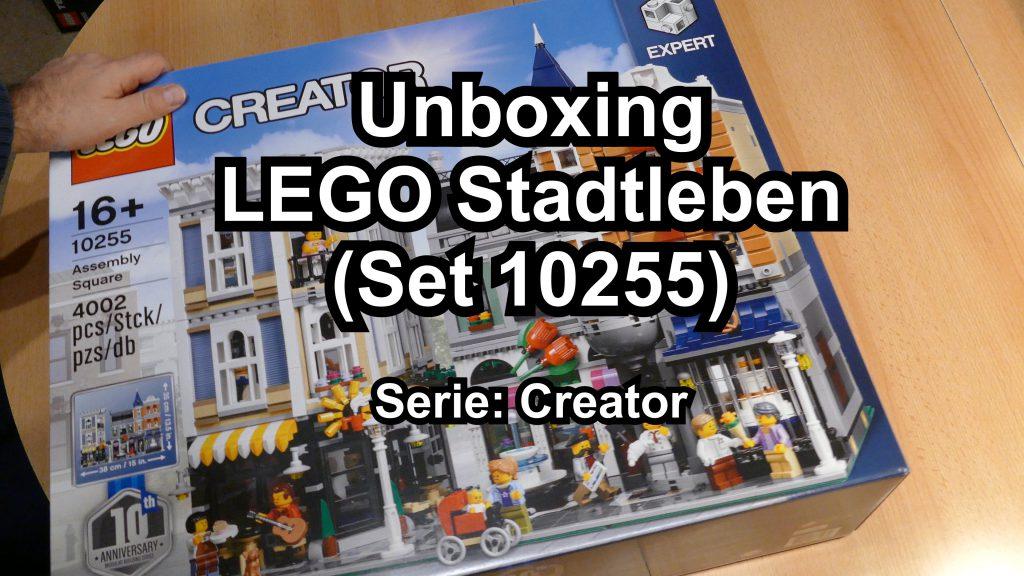 lego10255unboxing