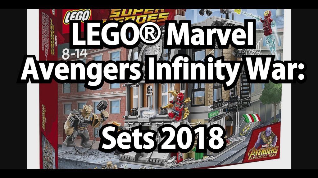 lego marvel avengers infinity war neue sets 2018. Black Bedroom Furniture Sets. Home Design Ideas