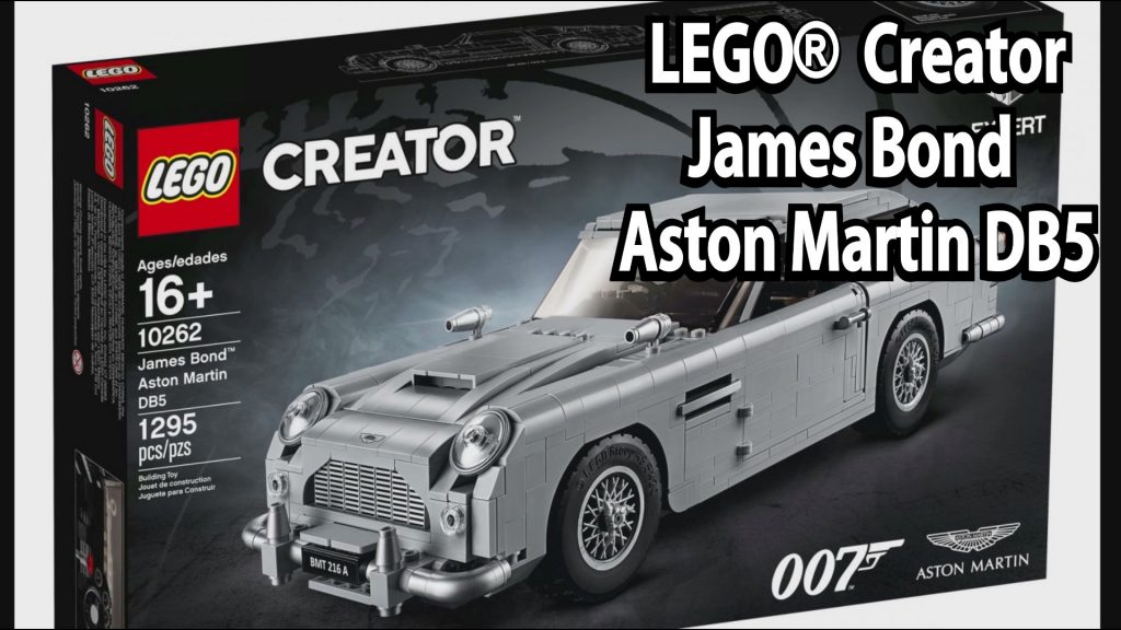 lego james bond aston martin db5 creator expert set 10262. Black Bedroom Furniture Sets. Home Design Ideas