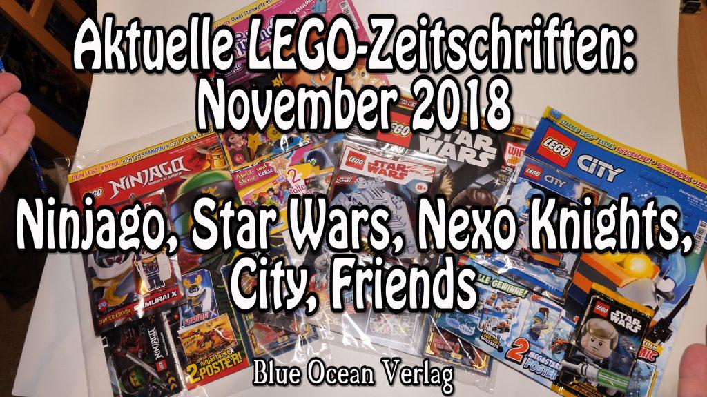 4 Lego Zeitschriften Neu Mit Beilage Star WARS Nexo KNIGHTS Baukästen & Konstruktion