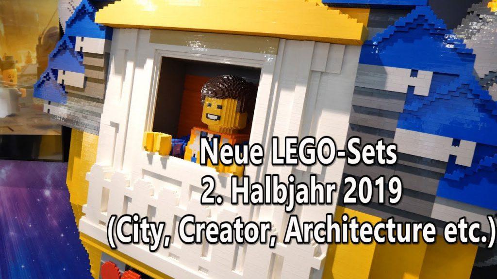 Lego Neuheiten 2 Hälfte 2019 City Creator Architecture Friends