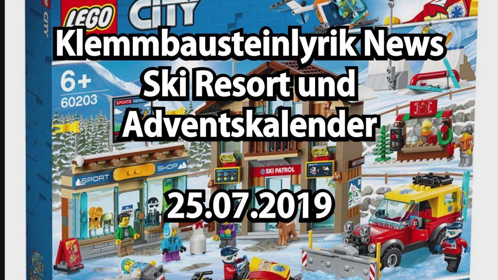 Lego Weihnachtskalender 2019.Lego Ski Resort Und Adventskalender News 25 07 2019