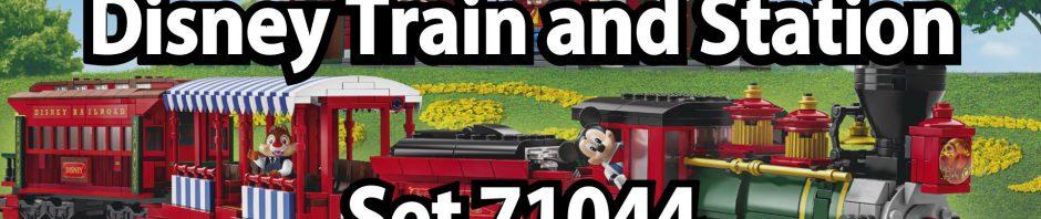 Oha und Oje: LEGO Disney Train and Station (Set 71044